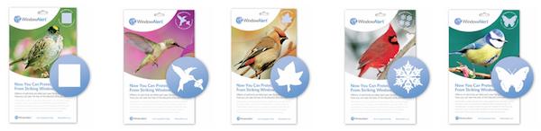 Preventing WindowStrike Projectkereruorgnz - Window decals for birds strikes
